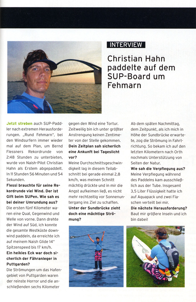 Interview Christian Hahn - Surf Magazin