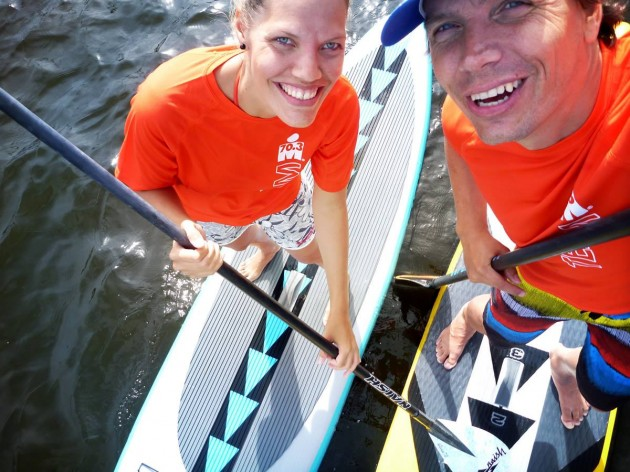 sup safety ironman berlin - corinna u christian hahn