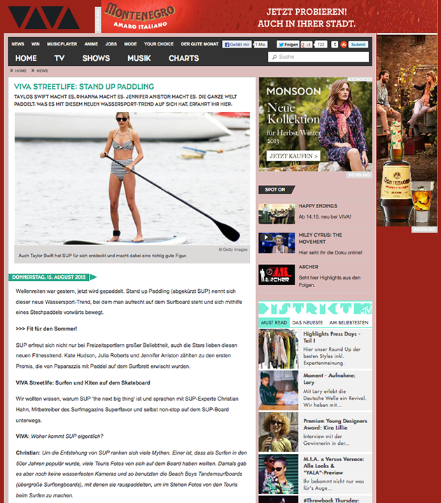 viva streetlife sup interview christian hahn